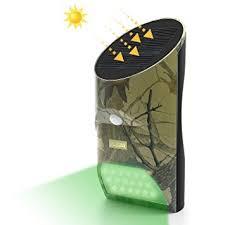 hog hunting lights for feeder amazon com artitan solar feeder light hog hunting green light with