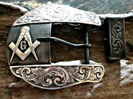 Masonic Home Decor Masonic Belt Buckle Mens Western Buckle Custom Masonic