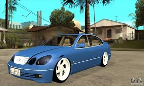 lexus hatchback modded lexus gs300 v 2003 for gta san andreas