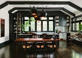 deco cuisine noir cuisine élégance par excellence
