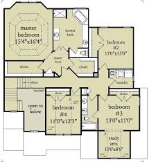 2 story colonial house plans 4 bedroom 2 bath colonial house plan alp 096y allplans
