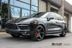 porsche cayenne black wheels porsche cayenne with 22in victor baden wheels exclusively from