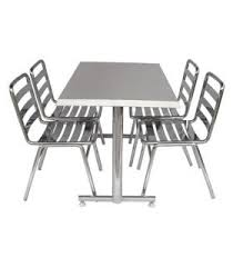 stainless steel table and chairs commercial kitchen equipment commercial food service equipment