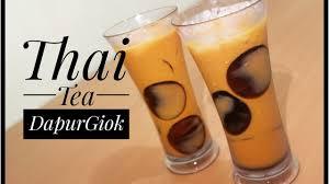cara membuat thai tea latte thai tea resep dan cara membuat thai tea youtube