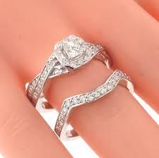 braided band vip jewelry 1 30 ct braided princess cut diamond engagement