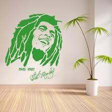 bob marley home decor bob marley 1945 1981 vinyl wall art sticker decal removable