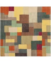 Modern Wool Rugs Sale Deals On Safavieh Handmade Soho Modern Abstract Multicolored Wool