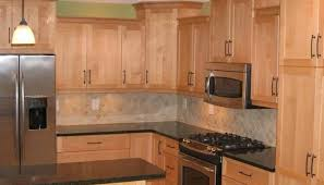 natural maple cabinets with granite colors for maple cabinets granite exitallergy com