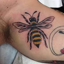 image result for tattoos bee tatts inner thigh