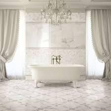 Purple And Cream Bathroom Bathroom Decorative Bathroom Tile Marble Mosaic Floor Tile