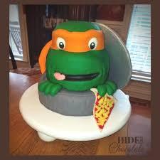 mutant ninja turtle cake tutorial