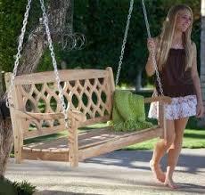 Wooden Garden Swing Bench Plans by 7 Best Garden Swings U0026 Benches Images On Pinterest Garden Swings