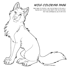 color page wolf by tanidareal on deviantart web comic