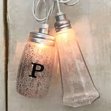 Mason Jar String Lights Salt U0026 Pepper Shaker String Light Set