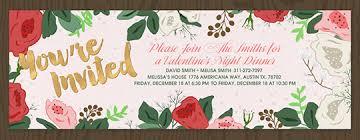customized invitations s day online invitations