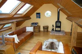 Loft Conversion Floor Plans by Modern White Loft Conversion With Fully Glazed Dormer Interior