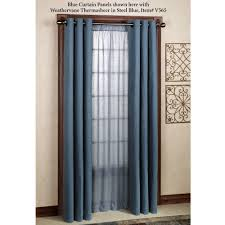 weathermate solid thermalogic tm room darkening grommet curtains