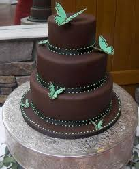 of awesome wedding cakes with butterflies 13
