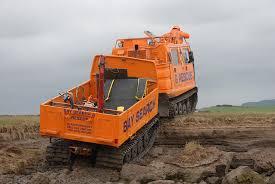 amphibious rescue vehicle hagglunds