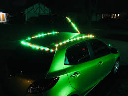 how to put christmas lights on your car what do you mean you don t put up your car christmas lights up the