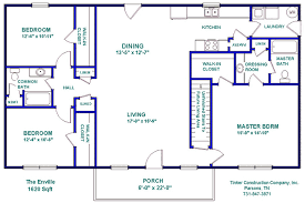 Construction Floor Plans Tinker Construction Company Inc Floor Plans