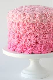 pink ombre swirl cake u2013 glorious treats