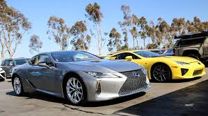 lexus lf lc play station the lexus lc 500h u0026 lexus lfa together in california auto moto