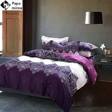 Purple Velvet Comforter Sets Queen Lavender Coloured Duvet Covers 100 Egyptian Cotton Sheets Dark