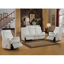 Coastal Living Room Sets Youll Love Wayfair - White leather living room set