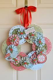 christmas wreath we r memory keepers blog
