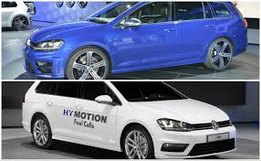 green volkswagen golf volkswagen golf variant goes from hydrogen green to r performance