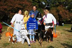Family Star Wars Halloween Costumes Montclair Pooches Take Home The Trophy In U0027strut Your Mutt