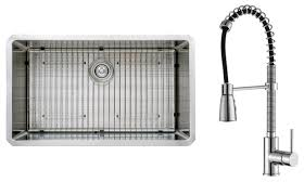 Kitchen Sink With Faucet Kraus 32