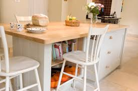 hand painted kitchen islands hand painted kitchen island in farrow ball old white with a hand