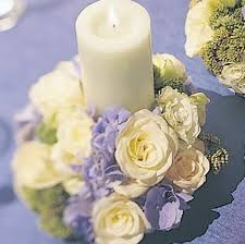 Blue Wedding Flowers Blue And White Wedding Flowers