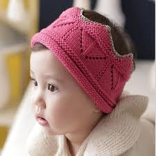 2018 2016 baby crown knitted caps newborn hat fashion crown