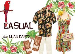 luau party what to wear to a luau