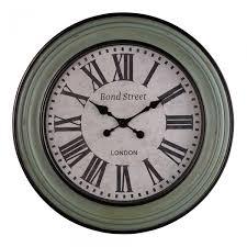 bond street wall clock accessories oak furniture land
