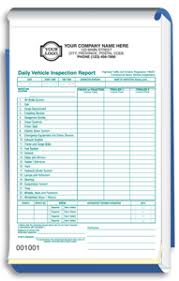 daily inspection report template ontario daily vehicle inspection report forms