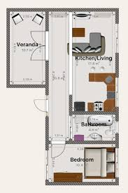 Tiny House Layout by My Dream Tiny House Floor Plan Complete With French Doors That