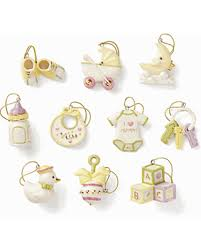 on sale now 50 baby memories 10 ornament set by lenox