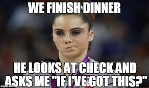 Gymnast Meme - mckayla maroney not impressed meme imgflip