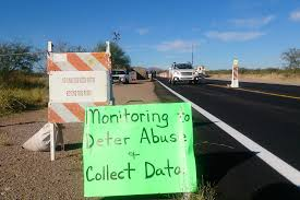 Border Patrol Checkpoints Map Border Patrol Check Some Arivaca Residents Want Checkpoint Gone