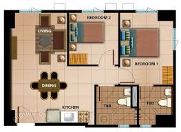 2 Bedroom Condo Floor Plan Condo Sale At Avida Cityflex Towers Bgc Floor Plans U0026 Finishes