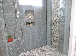 tile bathroom ideas bathroom glass tile bathroom ideas beachy shower for small showers