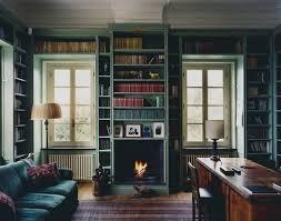 Green Bookshelves - a serious discussion about our closet bookshelves cozy built