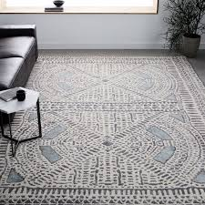 West Elm Rug by Dynasty Rug Dusty Blue Area Rugs Pinterest Dusty Blue