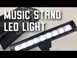 music stand light reviews lixada flexible bendable 9 leds music stand clip l light review