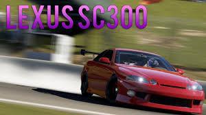 lexus is300 jalopnik forza motorsport 6 build it drift it kill it lexus sc300