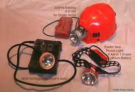 caving helmet with light equipment for caving boston grotto